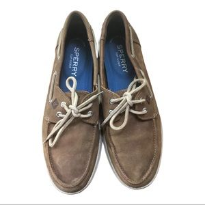 Men's Boat Sued Top Sider Sperry Shoes Size 10 M